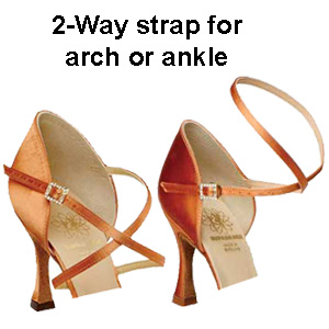 1307 - Ladies' Sandal Supadance Strap Detail