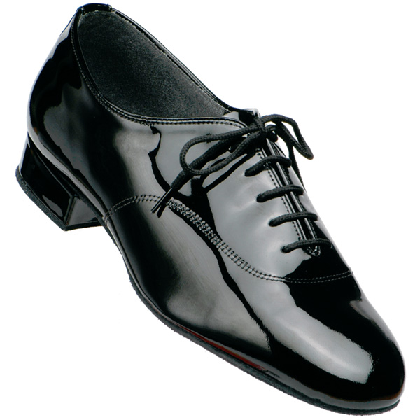 5000 - Men's Smooth Supadance Black Patent