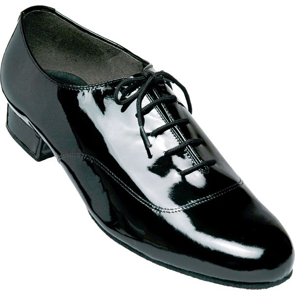 7500 - Men's Smooth Dance Club Black Patent