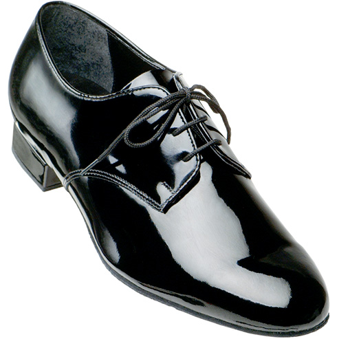 9000 - Men's Smooth Supadance Black Patent