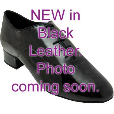 Contra - Men's International Dance Shoes UK Black Leather