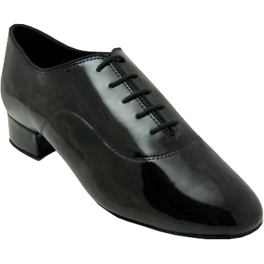 Contra - Men's International Dance Shoes UK Black Patent