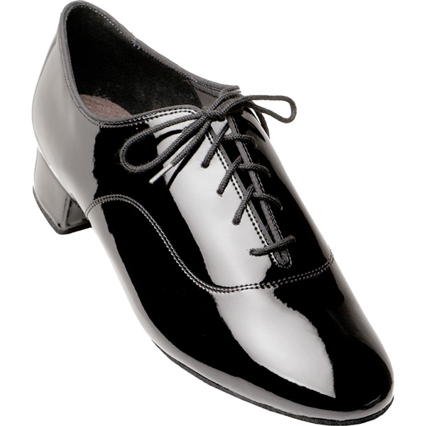 Tango - Men's International Dance Shoes UK Black Patent